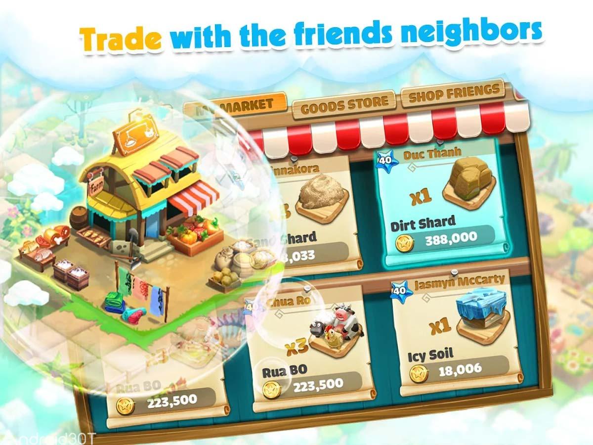 دانلود Breed Animal Farm 2.1.948a – بازی شبیه سازی مزرعه حیوانات اندروید