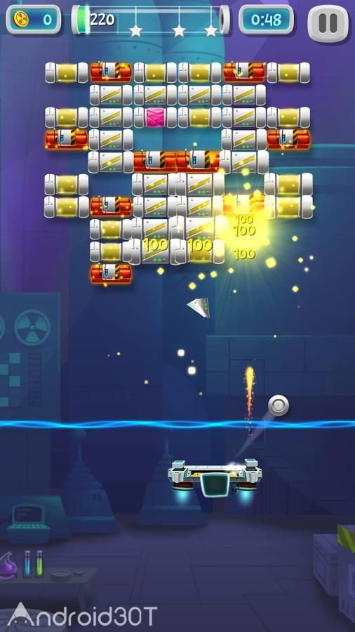 دانلود Brick Breaker Lab 1.3.2 – بازی مهیج شکستن آجر اندروید
