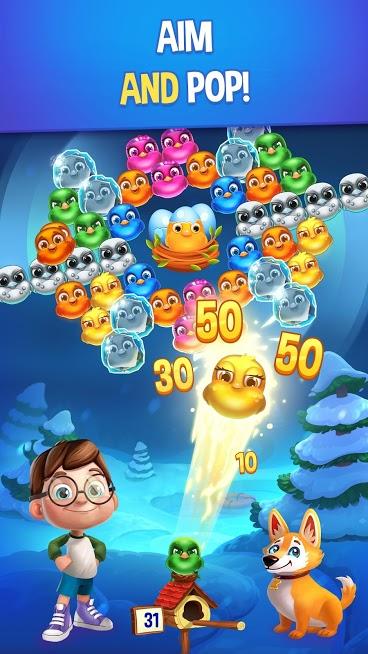 دانلود Bubble Birds V 1.9.8 – بازی پازلی پرندگان حبابی رنگارنگ اندروید