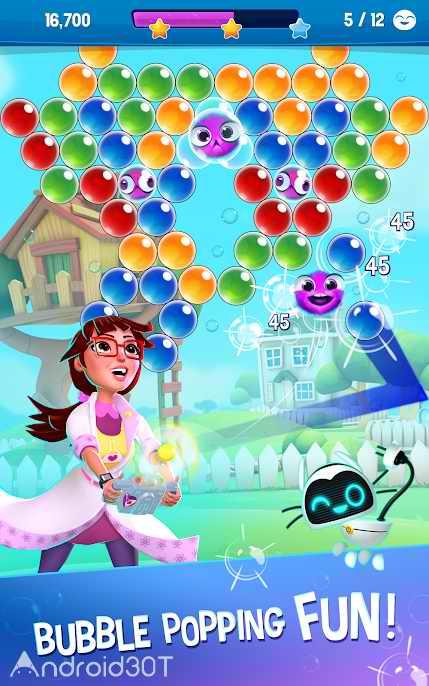 دانلود Bubble Genius – Popping Game! v1.56.1 – بازی پازلی حبابهای رنگی اندروید