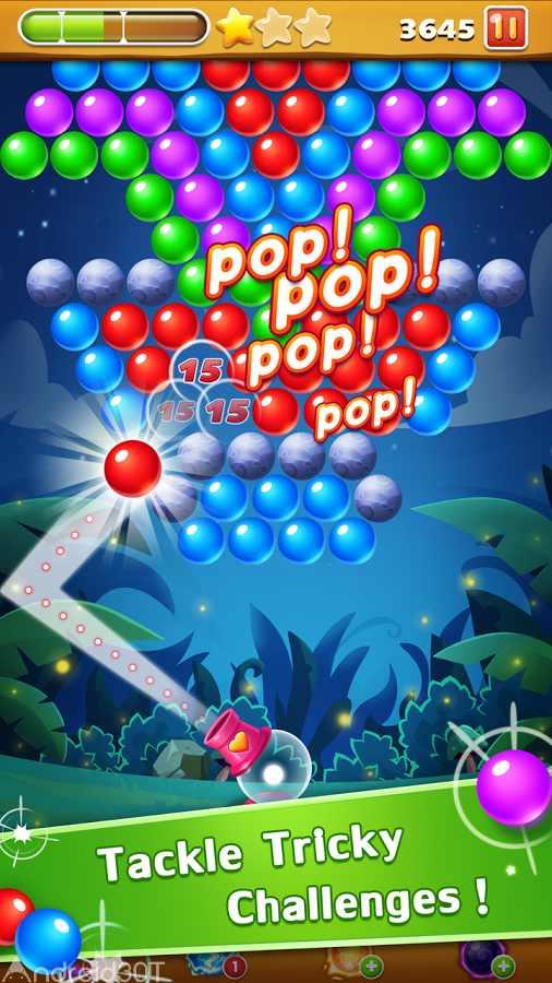 دانلود Bubble Shooter 1.19.1 – بازی جذاب ترکاندن حباب های رنگی اندروید