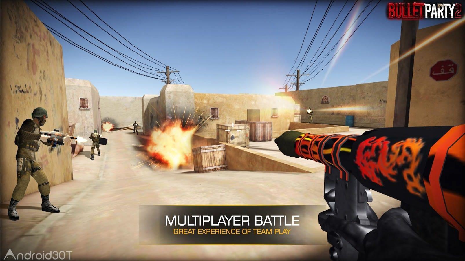 دانلود Bullet Party CS 2 : GO STRIKE 1.2.7 – بازی تیر اندازی اندروید