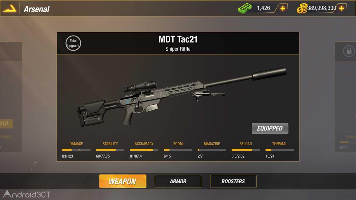 دانلود Bullet Strike Sniper Battlegrounds 0.7.2.6 – بازی اکشن تیراندازی اندروید