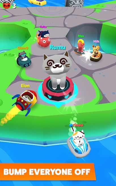 دانلود Bumper Cats 3.0 – بازی رقابتی گربه های ضربتی اندروید