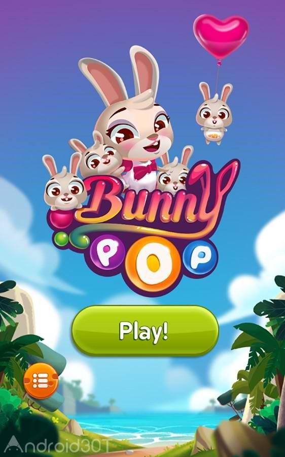 دانلود Bunny Pop 21.1008.09 – بازی پازلی ترکاندن حباب اندروید