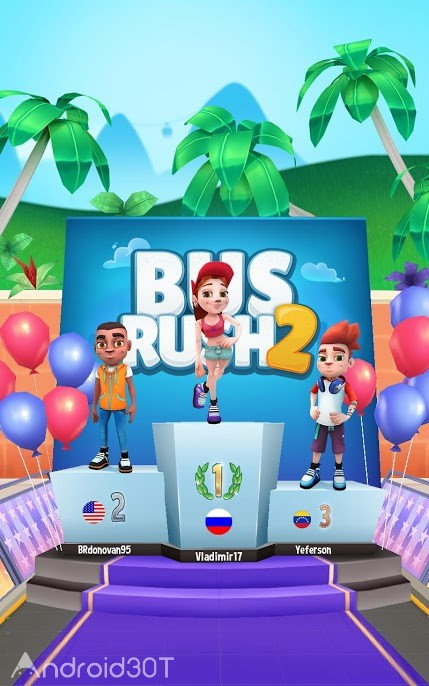 Bus Rush 2 Multiplayer
