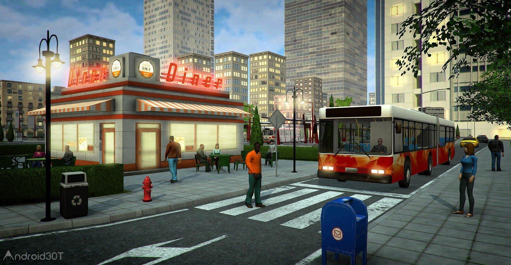 دانلود Bus Simulator PRO 2017 v1.6.1 – بازی رانندگی اتوبوس 2017 اندروید