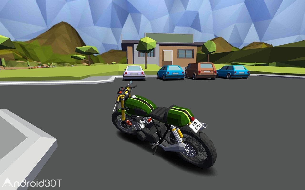 دانلود Cafe Racer 1.081.51 – بازی مهیج مسابقات موتورسواری اندروید