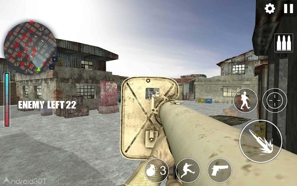 دانلود Call Of War WW2 v2.0.1 – بازی اکشن جنگ جهانی دوم اندروید