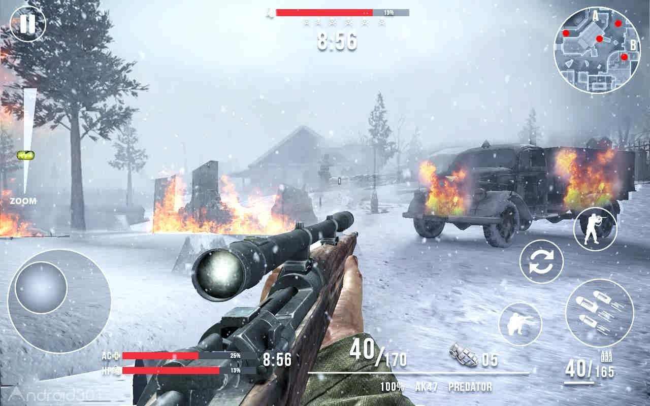 دانلود Call of Sniper WW2: Final Battleground 3.3.3 – بازی اکشن آخرین نبرد اندروید