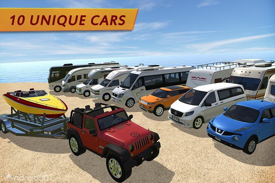 دانلود Camper Van Truck Simulator 1.0 – بازی شبیه ساز ون کامیون اندروید