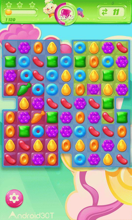 دانلود Candy Crush Jelly Saga 2.61.9 – بازی کندی کراش جلی ساگا اندروید