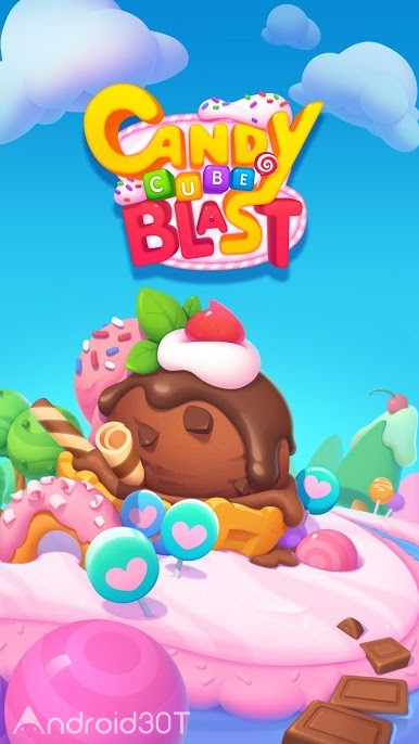 دانلود Candy Cube Blast 1.3.9 – بازی انفجار مکعب آب نباتی اندروید
