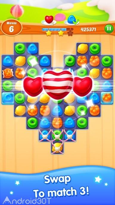 دانلود Candy Legend 1.0.3155 – بازی سرگرم کننده حذف آب نبات برای اندروید