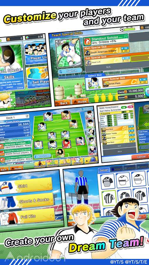 دانلود Captain Tsubasa: Dream Team 4.4.0 – بازی کاپیتان سوباسا برای اندروید