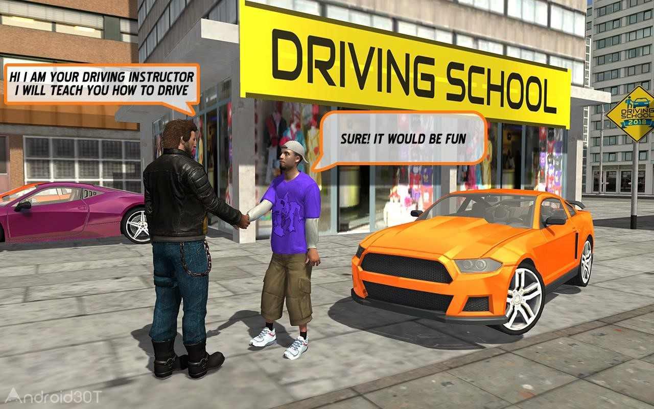 دانلود Car Driving School 2018 v1.7 – بازی آموزشگاه رانندگی 2018 اندروید