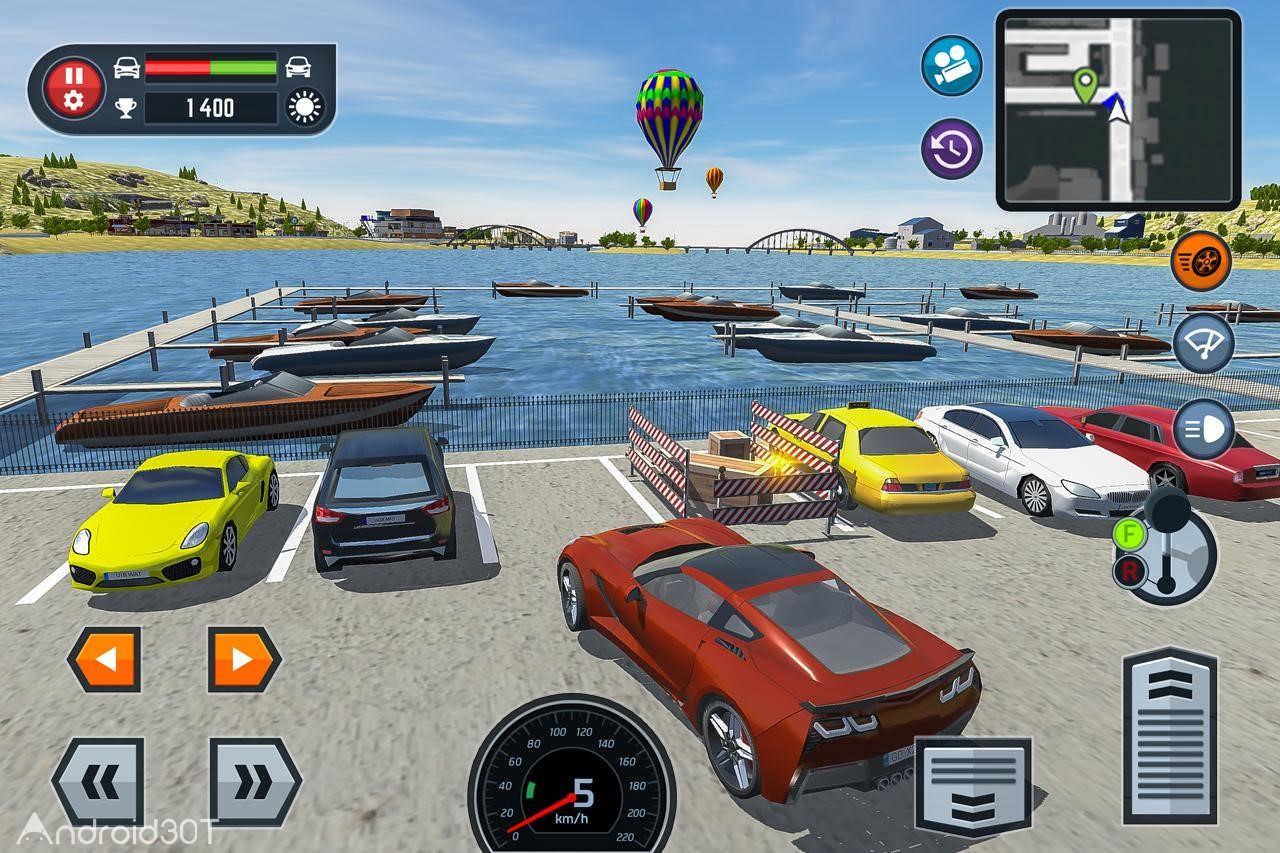 دانلود Car Driving School Simulator 3.2.7 – بازی شبیه سازی مدرسه رانندگی اندروید
