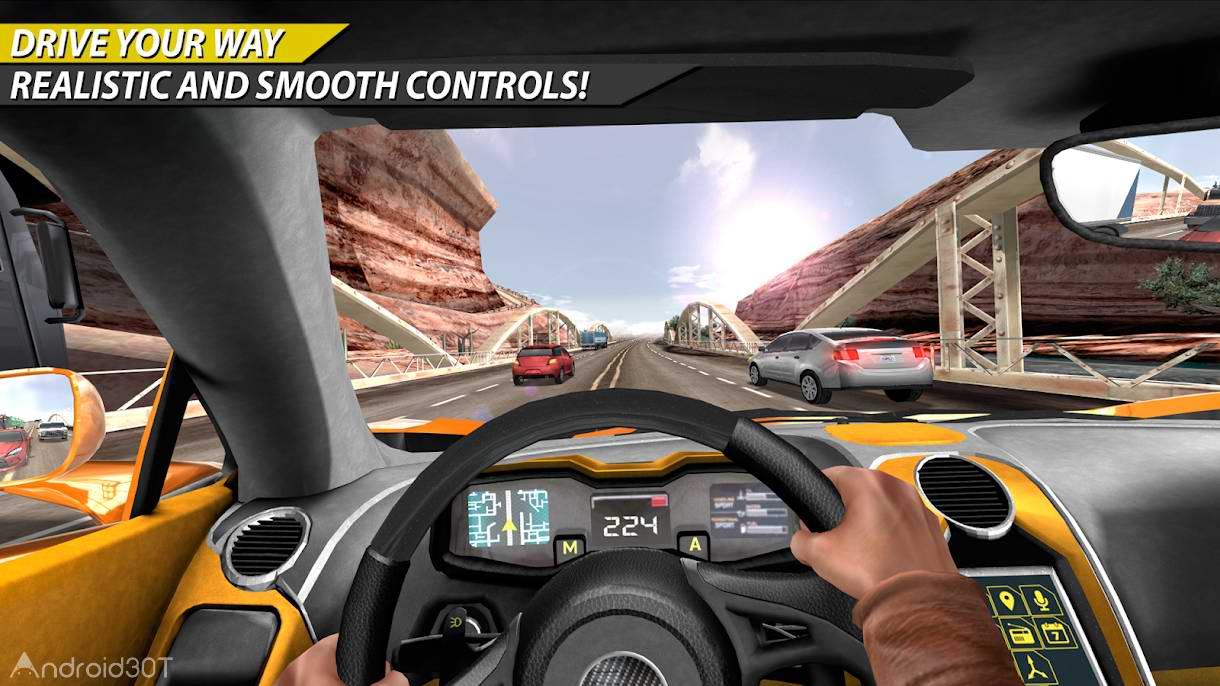 دانلود Car In Traffic 2018 1.2.9 – بازی رانندگی در ترافیک اندروید