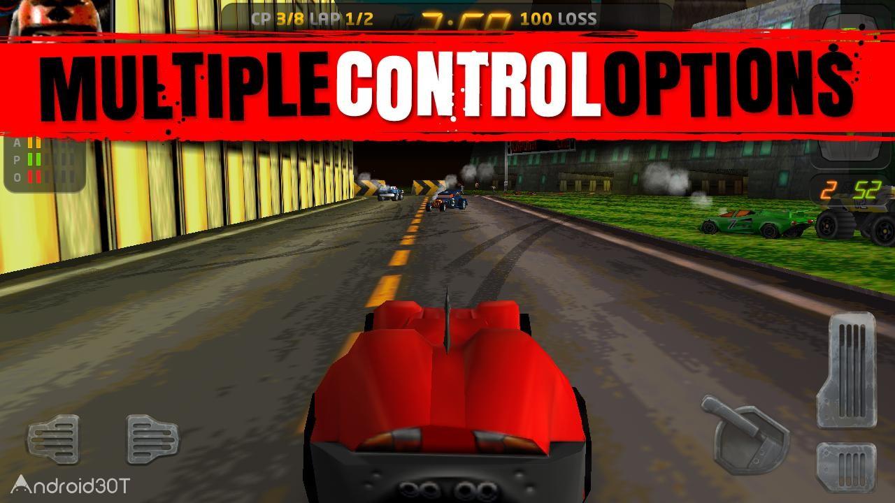 دانلود Carmageddon 1.8.507 – بازی اتومبیلرانی کاراماگدون اندروید