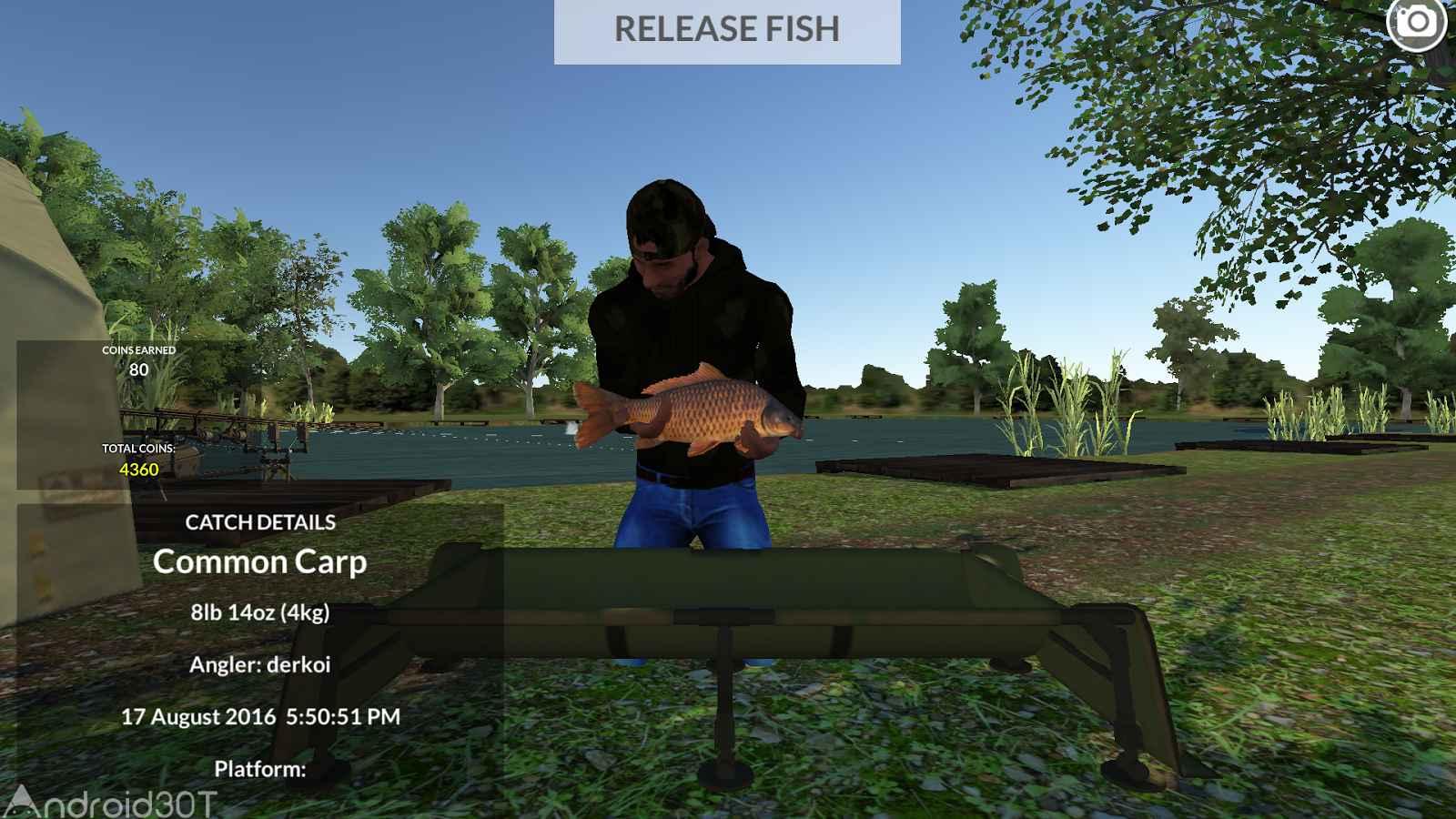 دانلود Carp Fishing Simulator 1.9.8.7 – بازی شبیه سازی ماهی گیری اندروید