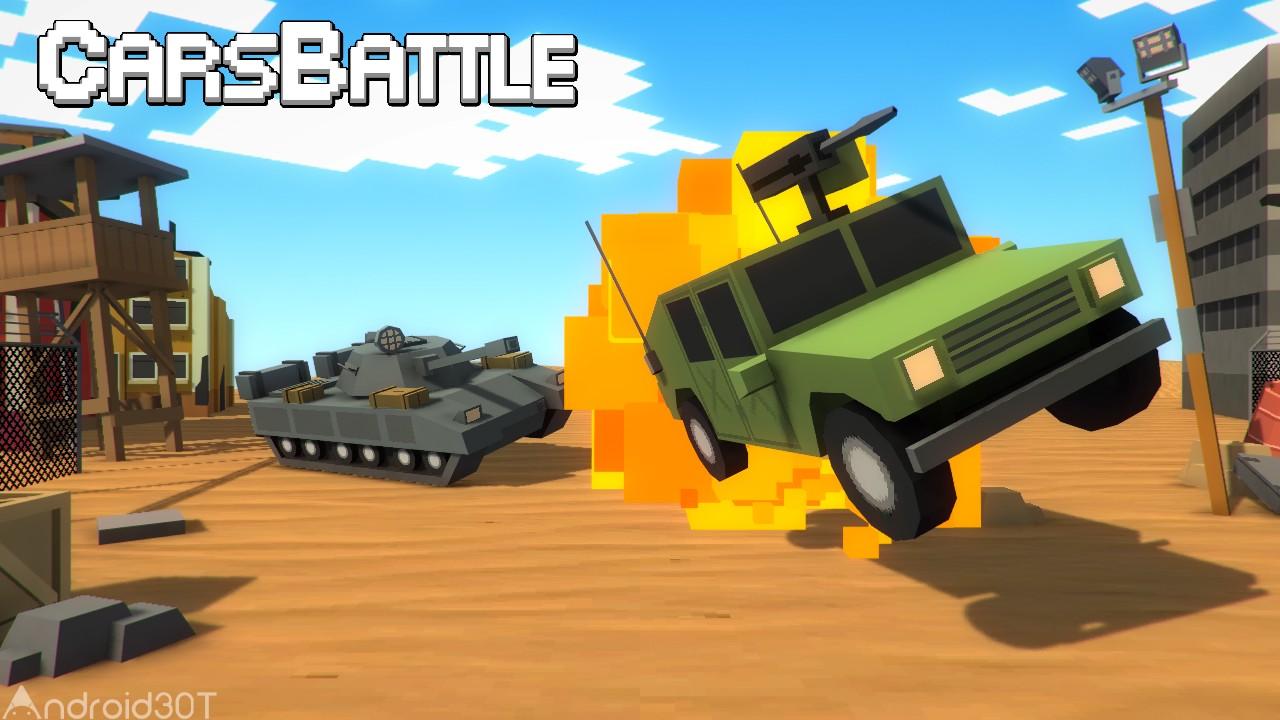 دانلود CarsBattle 2.014 – بازی جذاب اکشن جنگ ماشین ها اندروید