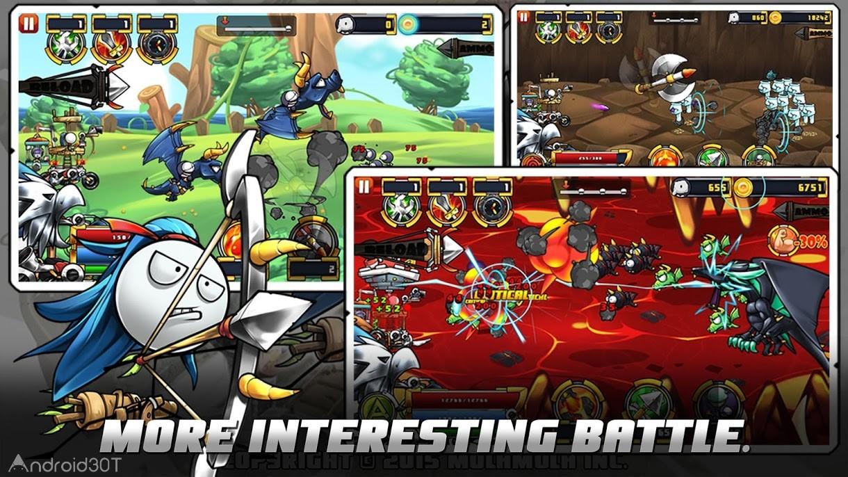 دانلود 1.2.8 Cartoon Defense 5 – بازی اکشن بدون دیتای اندروید