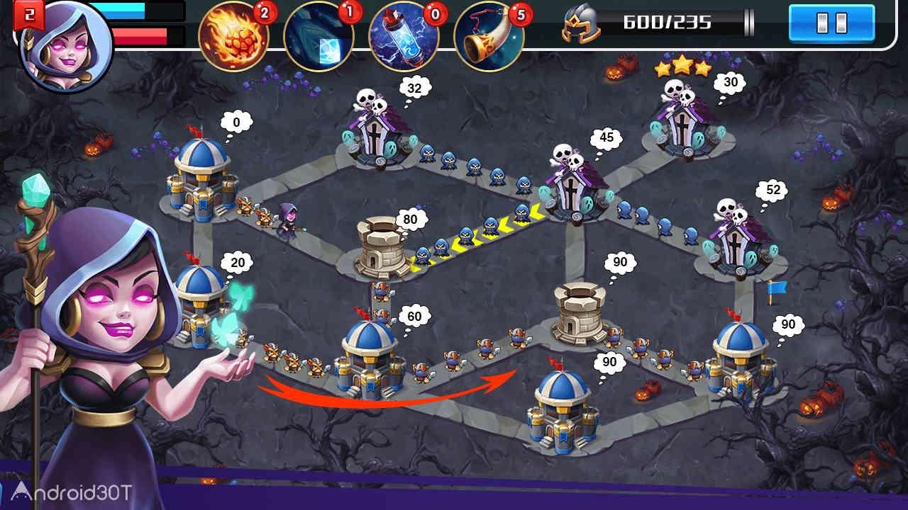 دانلود Castle Battle 1.6.3051 – دانلود بازی استراتژیکی جنگ قلعه ها اندروید