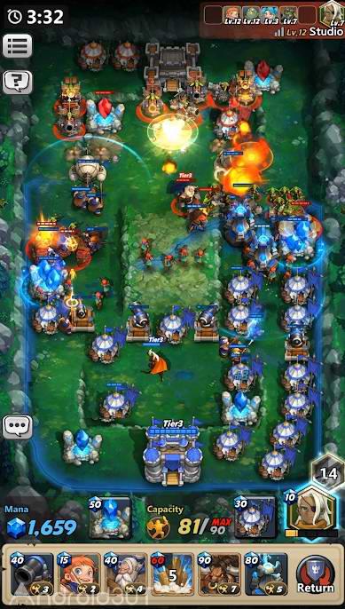 دانلود Castle Burn – RTS Revolution 1.6.4 – بازی استراتژیکی قلعه اندروید