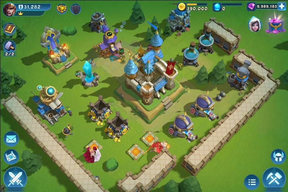 دانلود Castle Clash: New Dawn 1.6.1 – بازی استراتژیکی کستل کلش اندروید