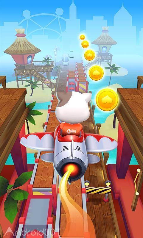 دانلود Cat Rush – Subway & Bus Run 1.0.7 – بازی دوندگی و کودکانه اندروید