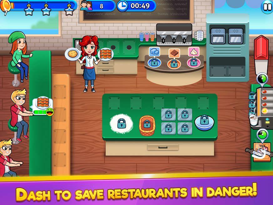 دانلود Chef Rescue 2.9.8 – بازی مدیریت رستوران برای اندروید