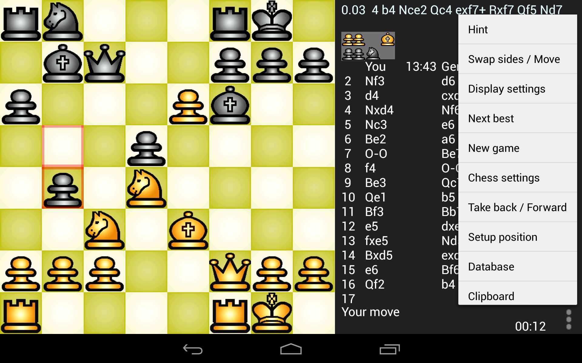 دانلود Chess Genius Lite 3.1.0 – بازی تخته ای شطرنج اندروید