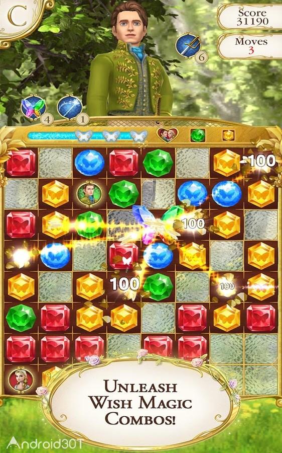 Cinderella Free Fall 2.10.0 – بازی دخترانه سیندرلا اندروید