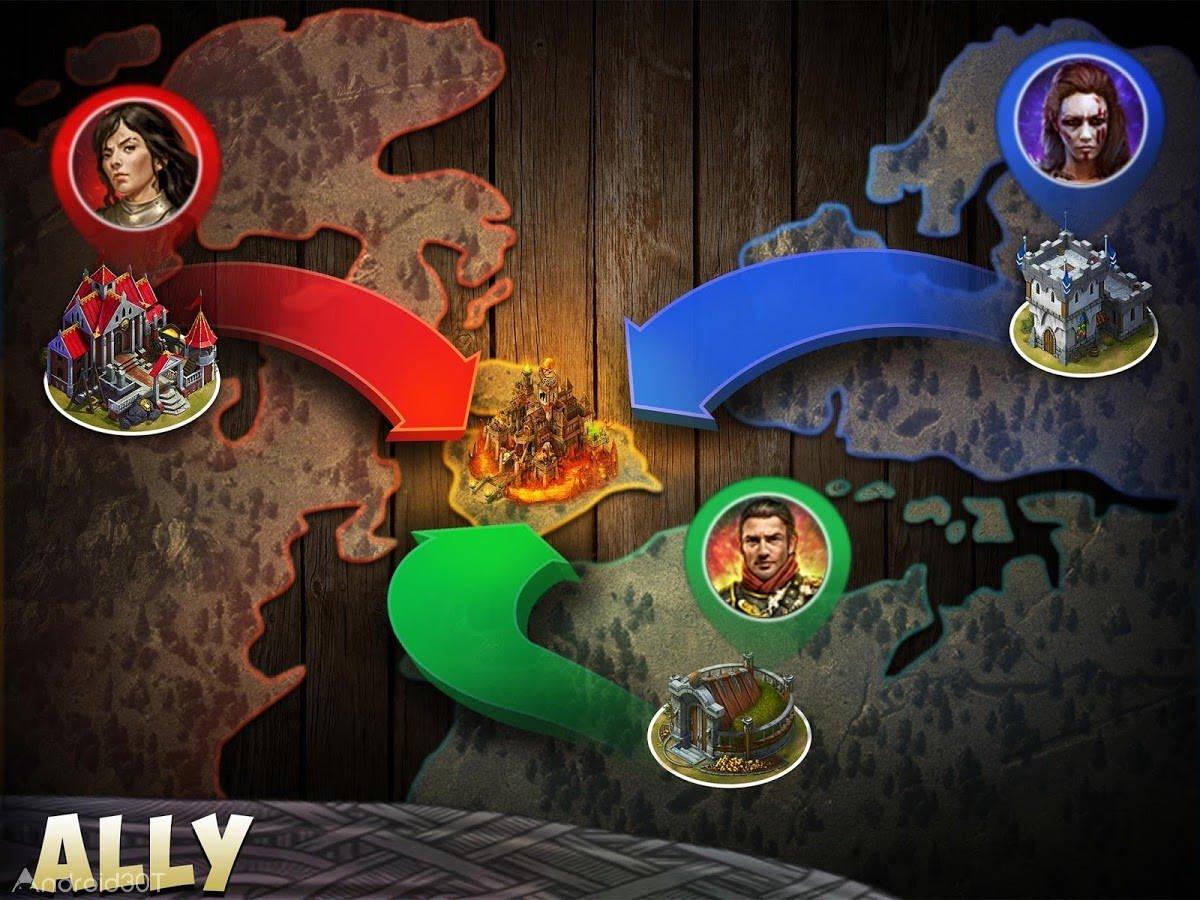 دانلود Citadels 18.0.4 – بازی استراتژیک قلعه نظامی اندروید