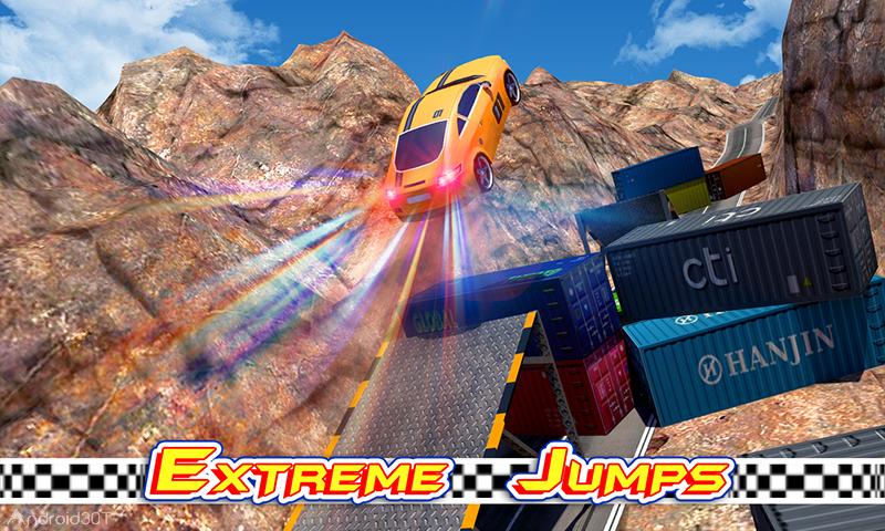 دانلود City Car Stunts 3D v2.2 – بازی مهیج ماشین کاری اندروید