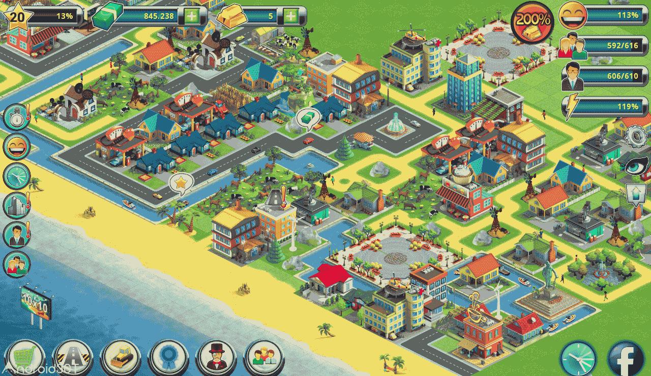 دانلود City Island 2 – Building Story 150.1.2 – بازی سیتی ایسلند 2 اندروید
