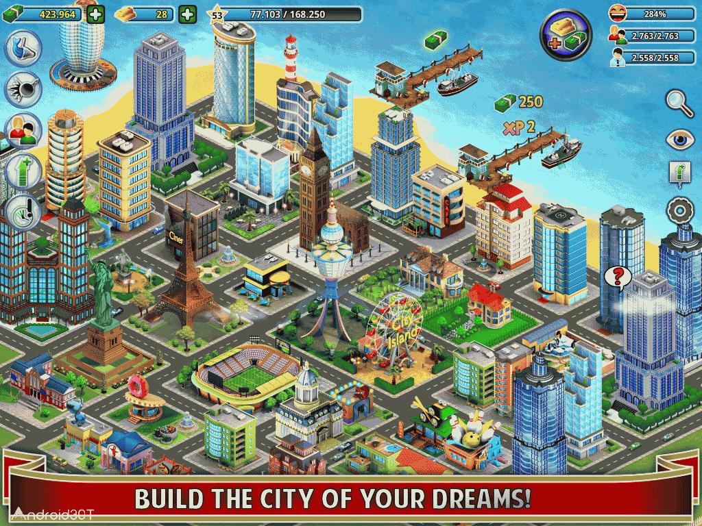 دانلود City Island Builder Tycoon 3.4.0 – بازی شهرسازی برای اندروید