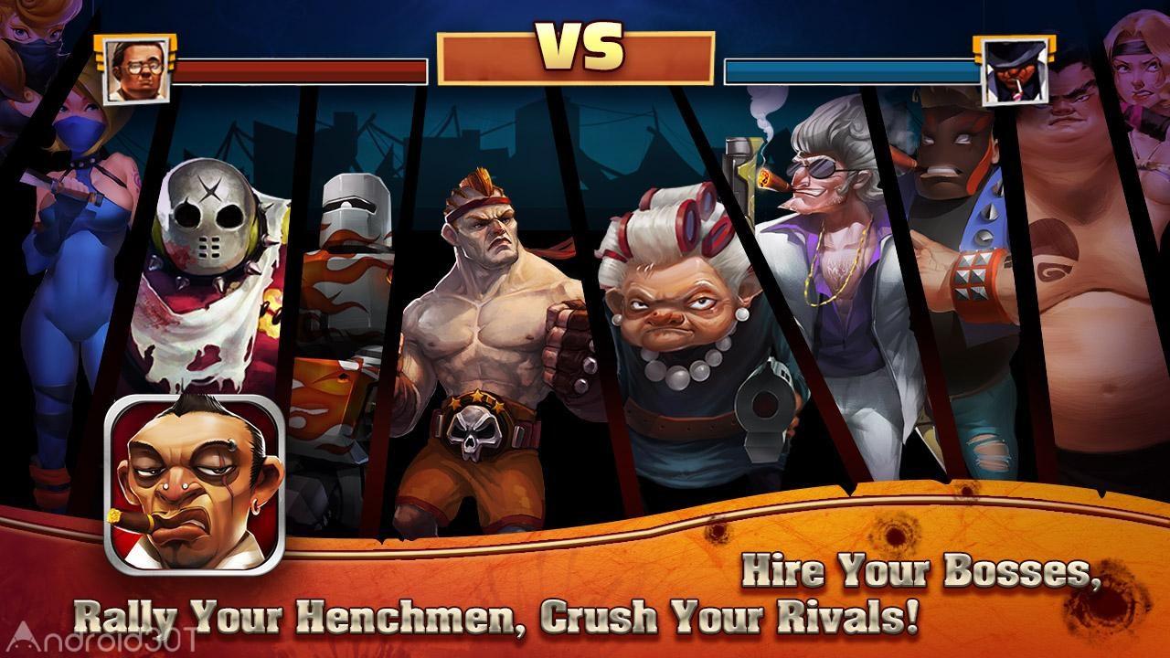 Clash of Mafias 1.0.65 – بازی استراتژیک جنگ مافیا اندروید