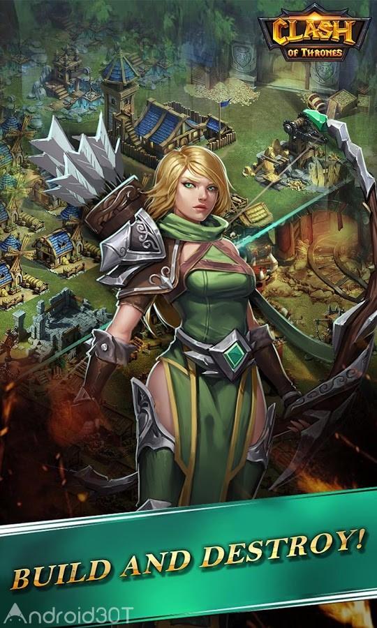 Clash of Thrones 1.0.44 – بازی آنلاین نبرد پادشاهان اندروید