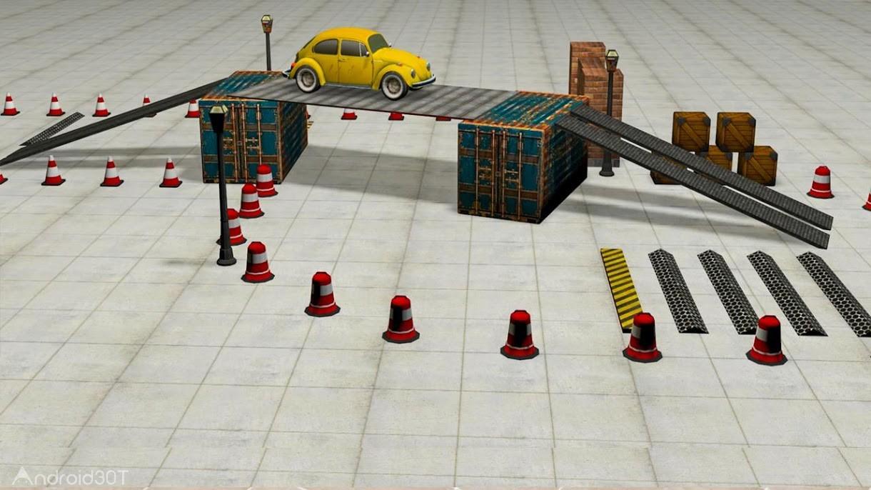 دانلود Classic Car Parking Real Driving Test 1.1 – بازی پارکینگ اتومبیل های قدیمی اندروید