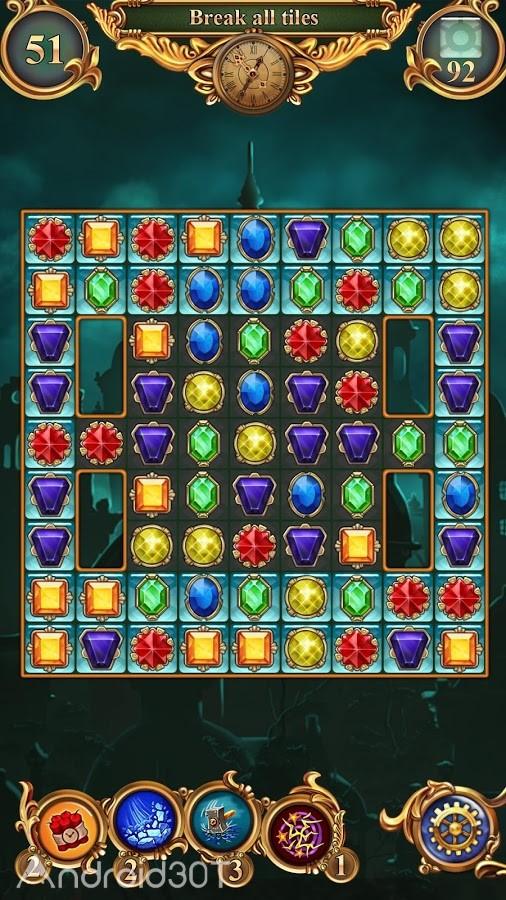 دانلود Clockmaker – Amazing Match 3 v52.0.0 – بازی پازلی رنگارنگ برای اندروید