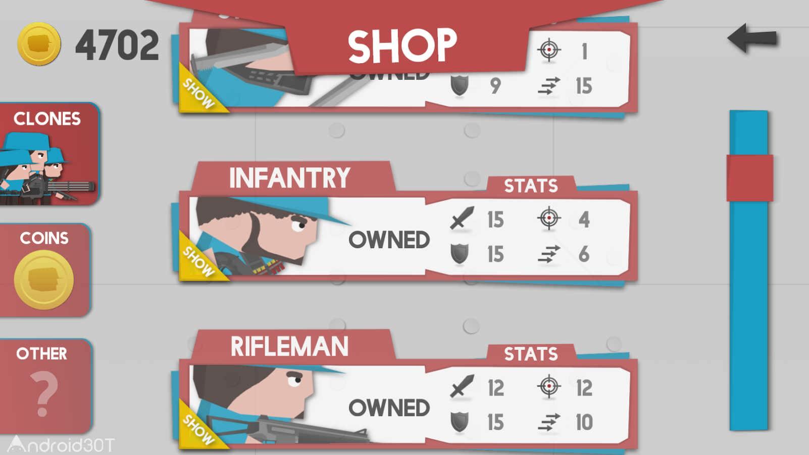 دانلود Clone Armies 7.6.3 – بازی اکشن ارتش سرخ و آبی اندروید