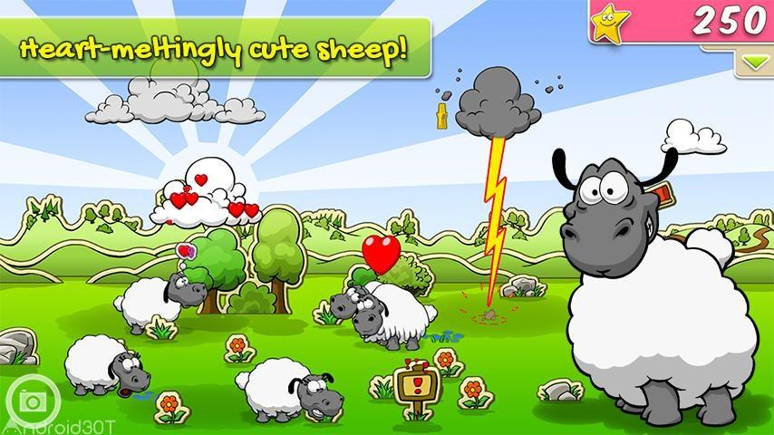 دانلود Clouds & Sheep Premium 1.10.1 – بازی ابرها و گوسفندها اندروید