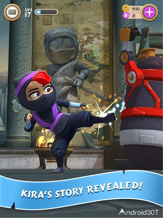 دانلود Clumsy Ninja 1.32.2 – بازی نینجا دست و پا چلفتی اندروید