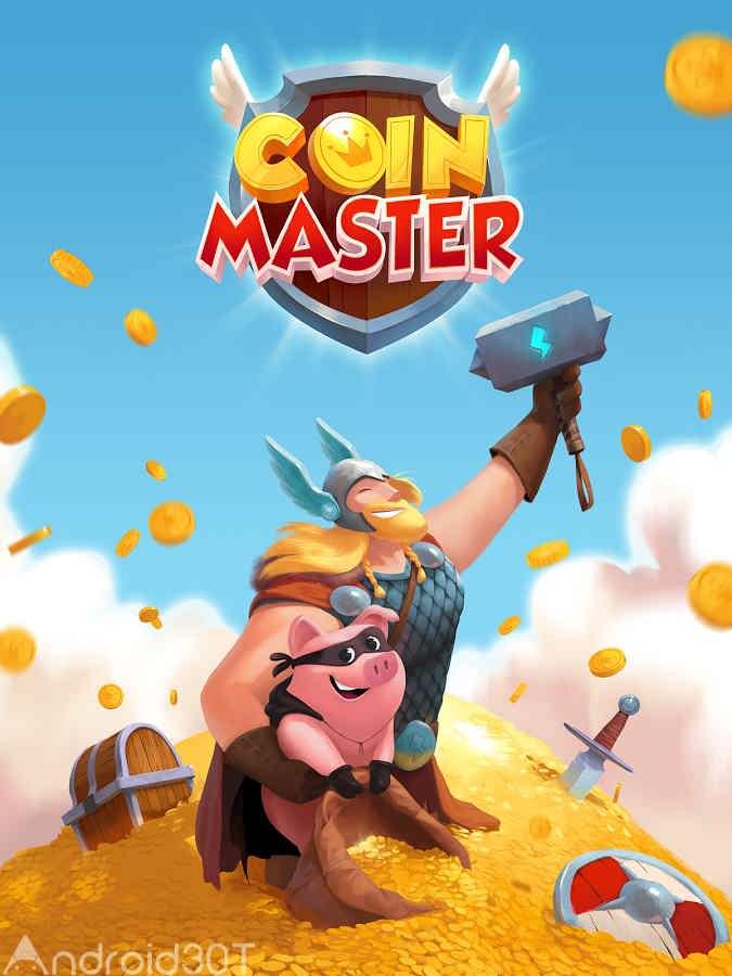 دانلود Coin Master v3.5.230  – بازی تفننی و سرگرم کننده استاد سکه اندروید