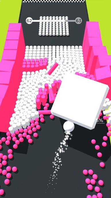 دانلود 3.0.1 Color Bump 3D – بازی آرکید سه بعدی توپ رنگی اندروید