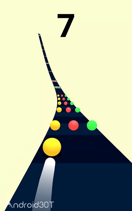 دانلود Color Road 3.19.4 – بازی اعتیادآور و خلاقانه اندروید