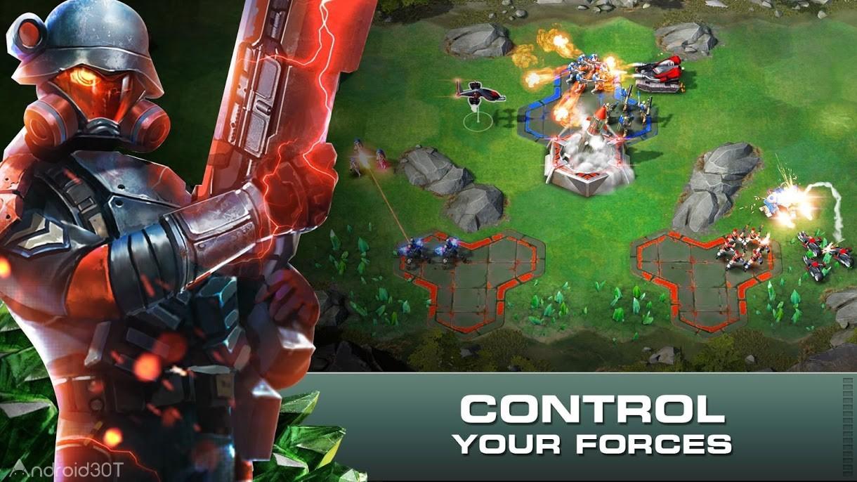 دانلود Command & Conquer : Rivals 1.4.4 – بازی فرمان و تسخیر رقبا اندروید