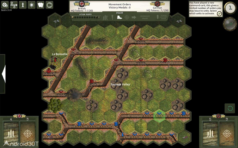 دانلود Commands & Colors: The Great War 1.9.45 – بازی استراتژیکی جنگ بزرگ اندروید