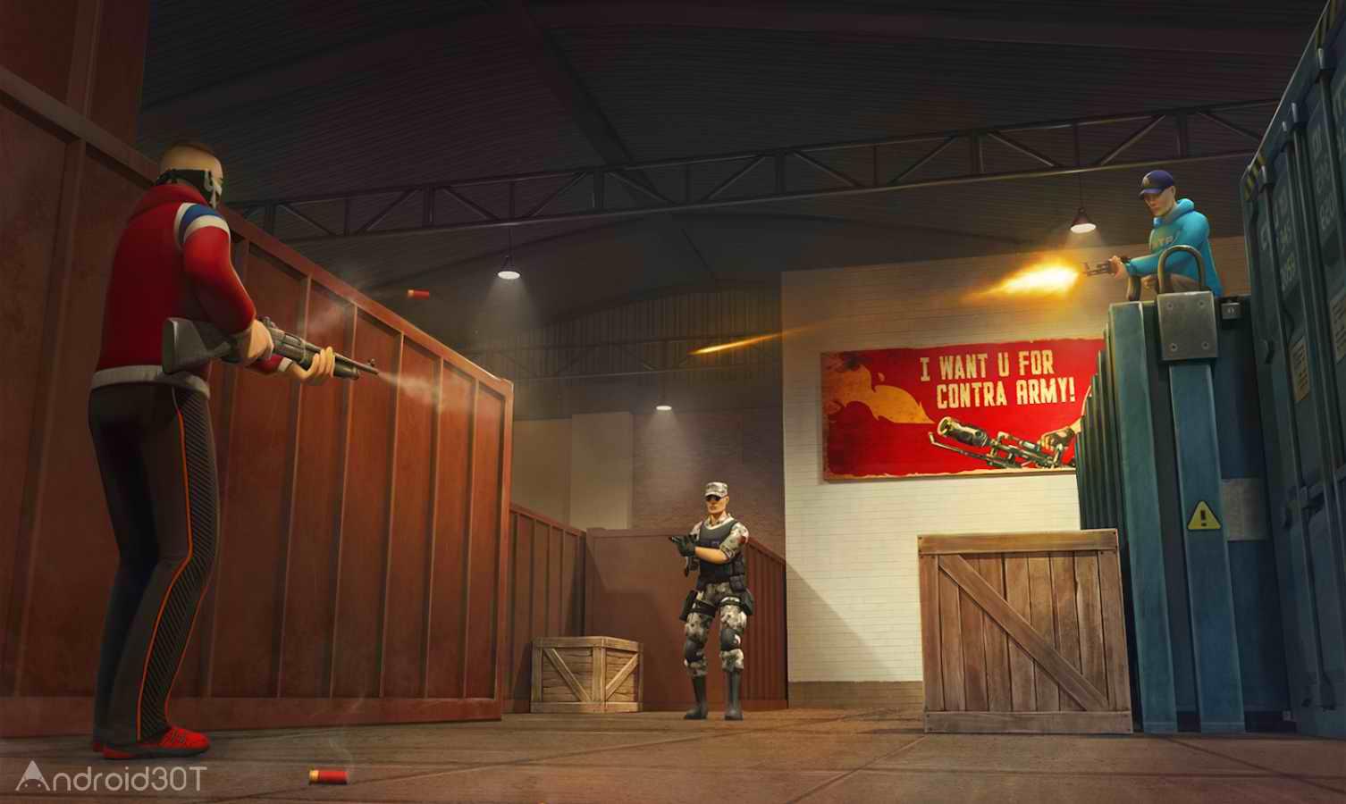 دانلود Contra City Online 0.9.9 – بازی اکشن دیتا دار اندروید